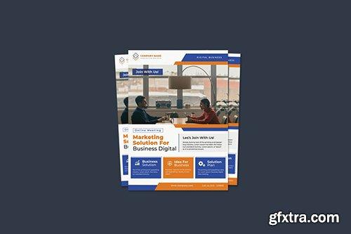 Online Meeting Flyer