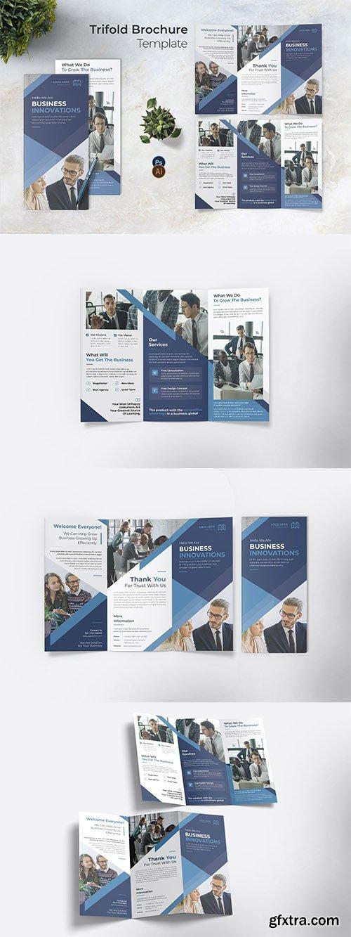 Innovation Strategy Trifold Brochure