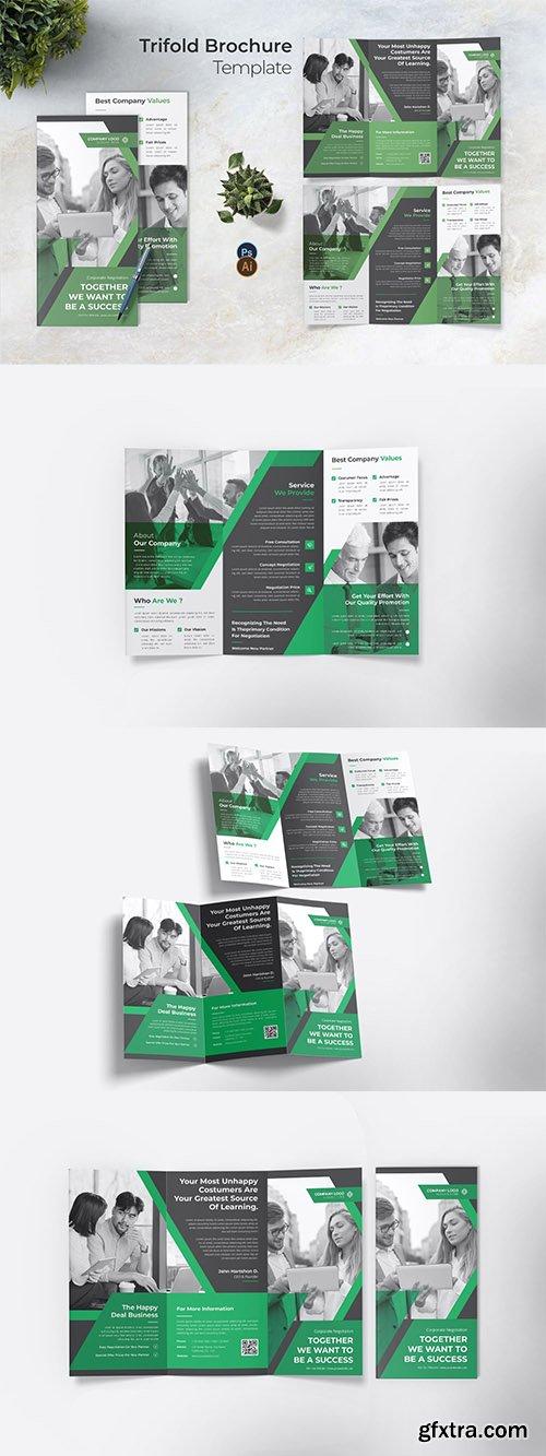 Corporate Negotation Trifold Brochure