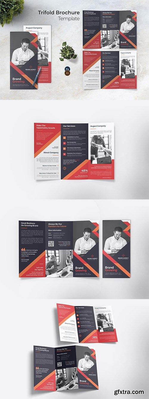 Branding Identity Trifold Brochure