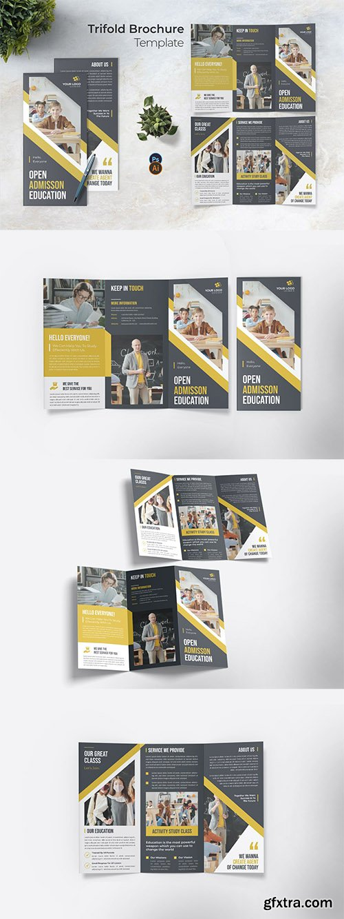 Open Admission Trifold Brochure