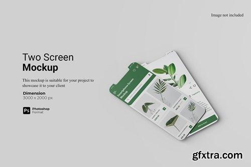Two Screen Mockup