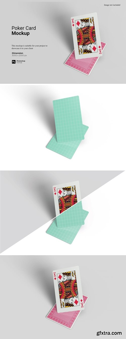 Poker Card Mockup