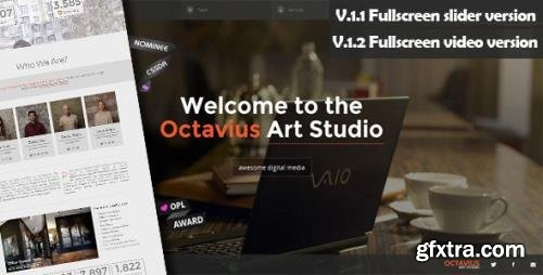 ThemeForest - Octavius v1.2.1 - Responsive One Page Template - 4770581