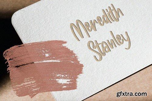 CM - Masticated Brush Script Font 5799213