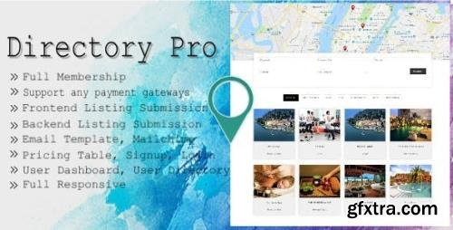 CodeCanyon - Directory Pro v2.1.9 - WordPress Plugin - 12488012