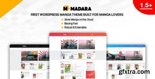 ThemeForest - Madara v1.6.5.3 - WordPress Theme for Manga - 20849828