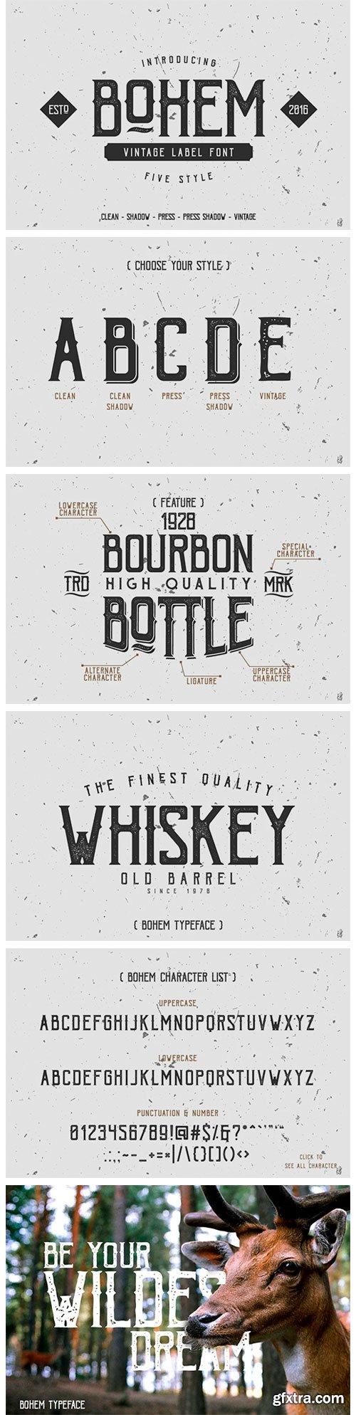 Bohem Typeface