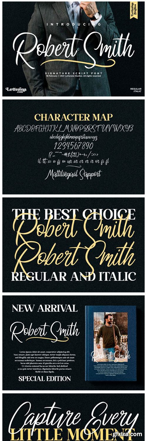 Robert Smith Font