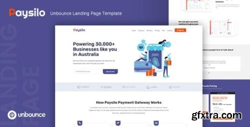 ThemeForest - Paysilo v1.0 - Responsive Unbounce Landing Page Template - 23661671