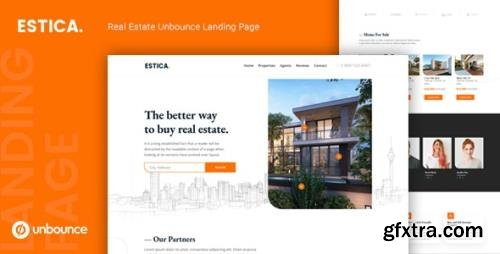 ThemeForest - Estica v1.0 - Real Estate Unbounce Landing Page Template - 24921499