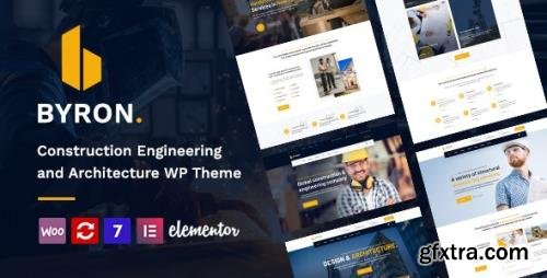 ThemeForest - Byron v1.4 - Construction and Engineering WordPress Theme - 28520387