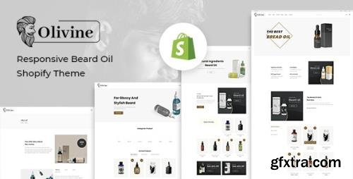 ThemeForest - Olivine v1.0.2 - Responsive Beard Oil Shopify Theme - 29367106