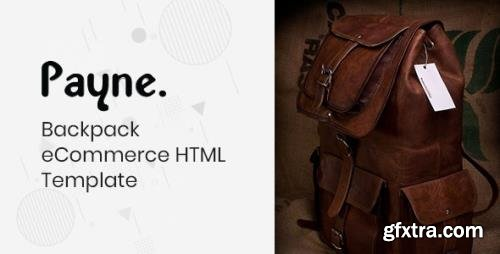 ThemeForest - Payne v1.1 - Backpack eCommerce HTML Template - 24919441
