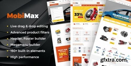 ThemeForest - Mobimax v4.0 - Auto Parts WordPress Theme + WooCommerce Shop - 23941859