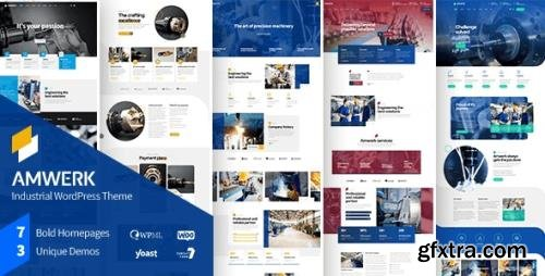 ThemeForest - Amwerk v1.0.1 - Industry WordPress Theme - 29855519