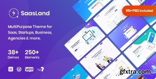 ThemeForest - Saasland v3.3.3 - MultiPurpose WordPress Theme for Saas Startup - 23362980 - NULLED