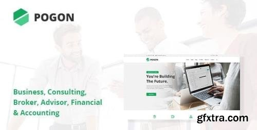 ThemeForest - Pogon v1.0.6 - Business and Finance Corporate WordPress Theme - 23567935