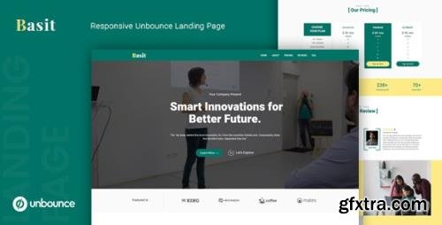 ThemeForest - Basit v1.0 - Unbounce Multipurpose Landing Page Template - 25104227