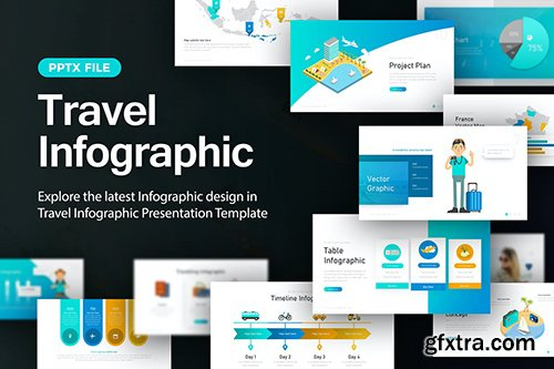 Travel Infographic Presentation Template