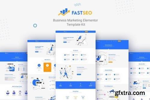 ThemeForest - FastSEO v1.0.0 - Business Marketing Elementor Template Kit - 30335723