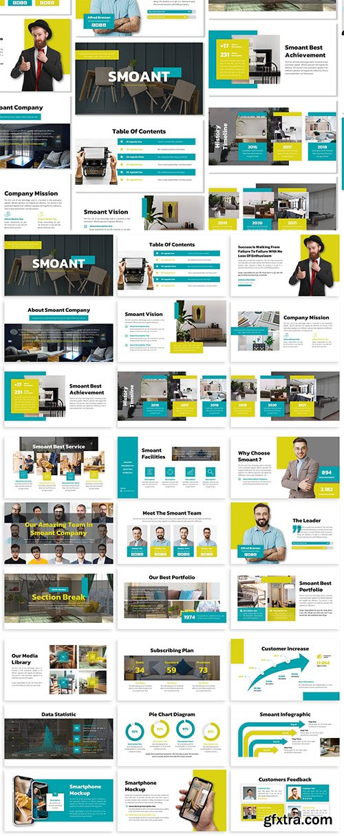 Smoant - Business Template Prensentation