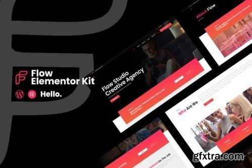 ThemeForest - Flow v1.0.0 - Creative Agency Business Elementor Template Kit - 29637071