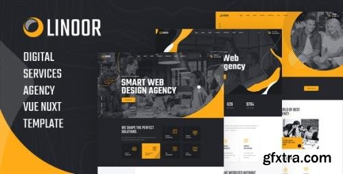 ThemeForest - Linoor v1.0 - Vue Nuxt Digital Agency Services Template (Update: 21 January 21) - 29146481