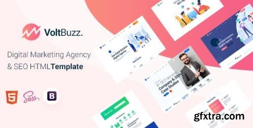 ThemeForest - VoltBuzz v1.0 - Digital Marketing Agency HTML Template - 29592740