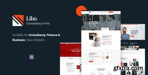 ThemeForest - Libo v1.0 - Consulting Business HTML Template - 27962837