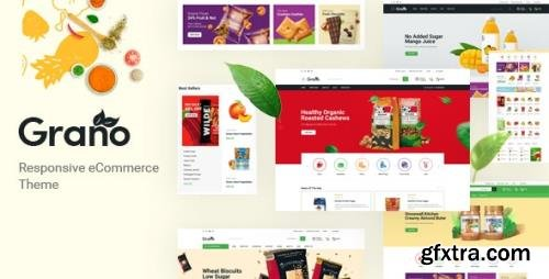 ThemeForest - Grano v1.0 - Organic & Food Opencart Theme (Included Color Swatches) - 30873731