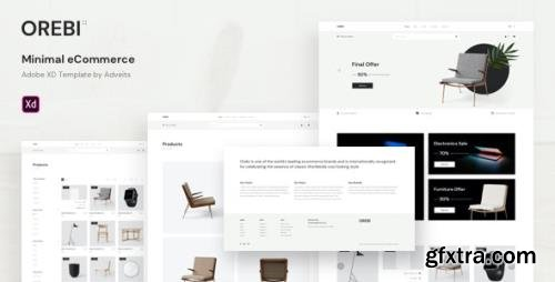 ThemeForest - Orebi v1.0.0 - Minimal eCommerce Adobe XD Template - 27859987