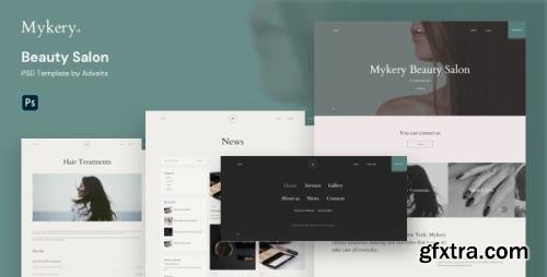 ThemeForest - Mykery v1.1.0 - Beauty Salon PSD Template - 29405772