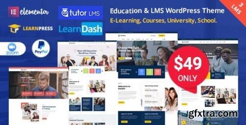 ThemeForest - Edubin v6.9.6 - Education WordPress Theme - 24037792