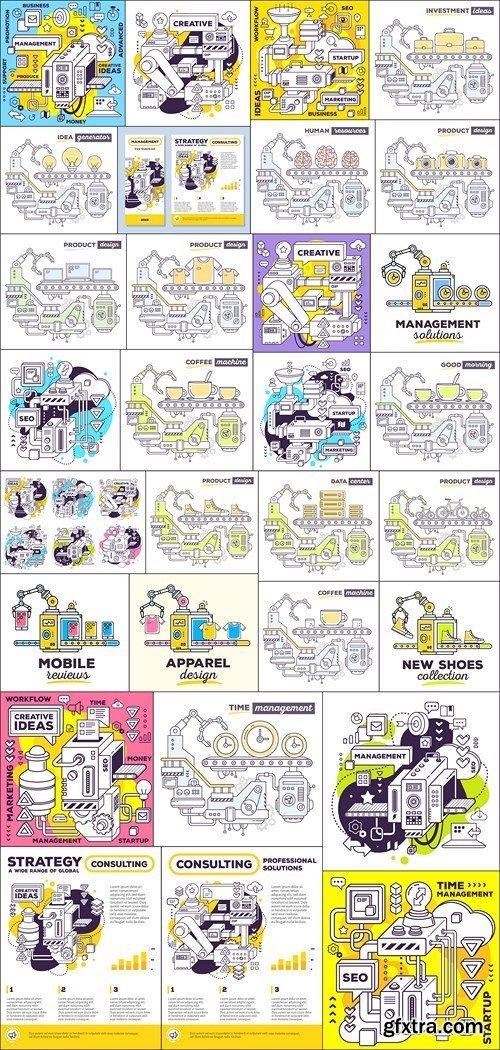 Business Concept  - Mechanism Design - 30xEPS