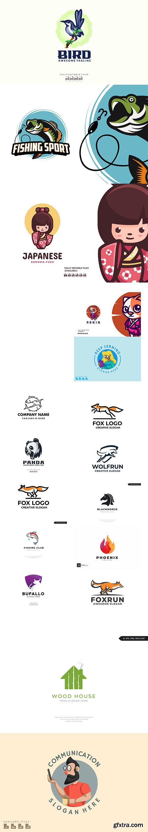 Colorful logo collection 2021 Vol 3
