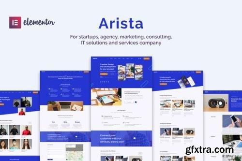 ThemeForest - Arista v1.0.0 - Multipurpose Business Elementor Template Kit - 29846193