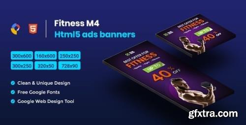CodeCanyon - Fitness HTML5 Animate Banner Ads- Google Web Design M4 v1.0 - 23758367