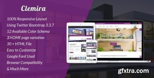 ThemeForest - Clemira v1.0 - Responsive Real Estate HTML Template - 20622517