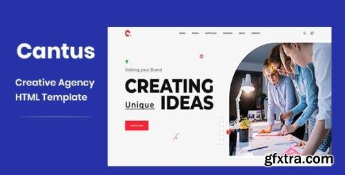 ThemeForest - Cantus v1.0 - One Page Agency HTML Template - 26301815