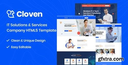 ThemeForest - Cloven v1.0 - IT Solutions And Services Company HTML5 Template (Update: 10 August 20) - 25368682