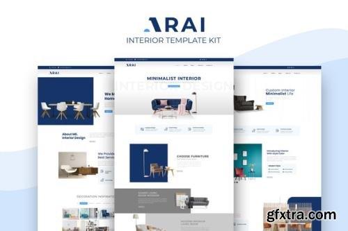 ThemeForest - Arai v1.0.0 - Interior & Furniture Elementor Template kit - 29606092