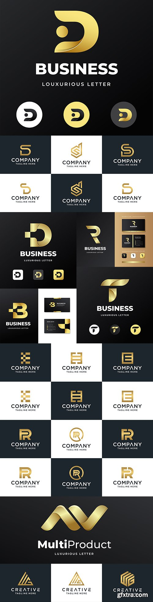 Brand name company business corporate logos design 17