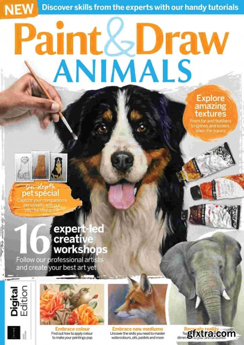 Paint & Draw Animals - First Edition, 2021