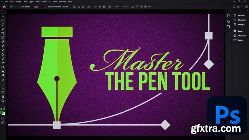 Master the Pen Tool in 30 minutes | Photoshop