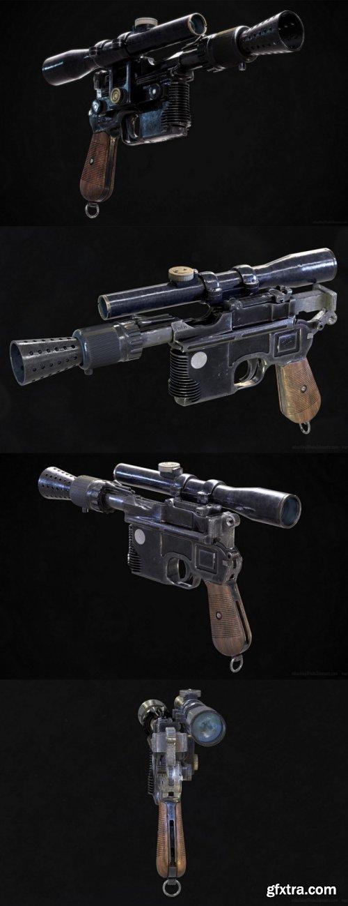 Blastech Industries DL-44 Heavy Blaster Pistol