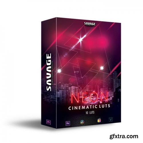 SavageLUTS - NEON CINEMATIC LUTS | PACK