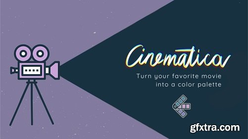 Cinematica: Create your color palette based on your favorite movies
