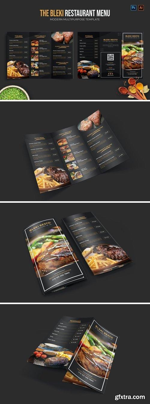 Bleki - Restaurant Menu