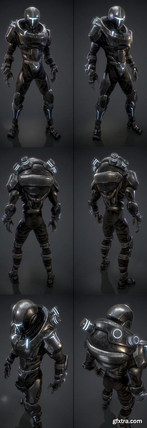Enforcer 3D model